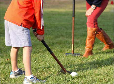 Children's Croquet Golf Mallets